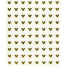 Gold 3D stickers, Mickey Mouse