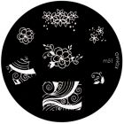 Template for nail stamping m51 - various patterns
