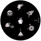 Template for nail stamping m55 - various patterns