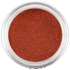 Small glitters - terracotta red