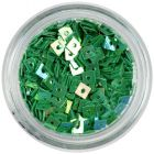 Decorative Squares with Hole - Emerald Green