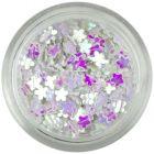 Small flower confetti - pearlescent