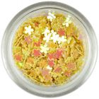 Small flower confetti – yellow