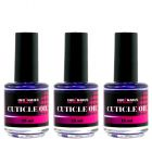 Cuticle Oil FREESIA 15ml - cuticle oil, 3pcs