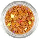 Small flower confetti – orange