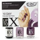 Nail polish kit - Nail Creative Set, Stronger, Winsor Violet, Top Coat