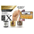 Nail polish kit - KIT 5 - Misty Swamp, Autumn Night, Top Coat, Gold Flakes, 9ml
