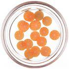 Sliced orange for decorating nails