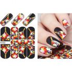 Luxurious water decals – Zip & Colorful Roses