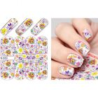 Luxurious water decals – Flower Ornaments