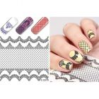Luxurious water decals – Black Lace