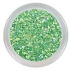 Fluorescent glitter powder - Neon Green
