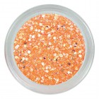 Fluorescent glitter powder - Neon Orange