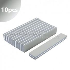 10pcs - Foam nail file 150/180