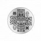Nail art stamping plate  - JQ-15
