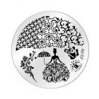 Nail art stamping plate - JQ-09