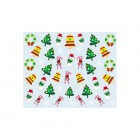 Nail art stickers with Christmas motif - 037