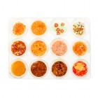 Nail art kit, 12 pieces – orange
