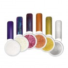 Nail art powder - Kit of coloured chrome nail art powders no.2