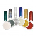 Nail art powder - Kit of coloured mirror powders no.2