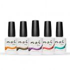 Kit of coloured gel polishes