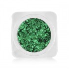Nail art decorations – circles in metallic colour - green, no. 4