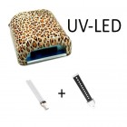 Combined LED UV lamp with animal pattern – 36W