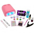 Set for gel nails – Christel Delux with 36W lamp