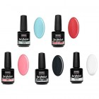 UV gel polish - 5pcs kit - pastel