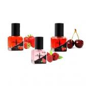 Red set - nail oils 3pcs