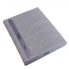 50pcs - Nail file, grey board with black centre, washable and disinfectant friendly 150/150