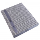 50pcs - Nail file, grey board with black centre, washable and desinfectant friendly 280/280