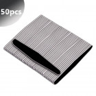 50pcs - Professional nail file, black – rounded diamond 100/180