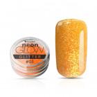 Decorative nail powder, Neon Glow Glitter, 03 – Orange, 3g