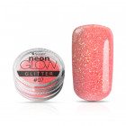 Decorative powder, Neon Glow Glitter, 07 – Light Orange, 3g