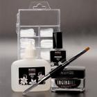 Polygel nail kit – Bright White