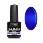UV/LED colour gel polish 15ml - Royal Blue Glitter