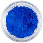 Randomly shaped confetti flakes - blue