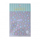 5D Nail stickers - snowflakes - Pro-085