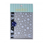 5D Nail stickers - snowflakes - Pro-084