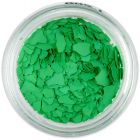 Randomly shaped confetti flakes - green