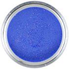 7g Electric Blue Glitter - acrylic powder, violet blue