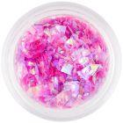 Pink nail glitters