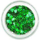 Nail spangles - emerald hearts