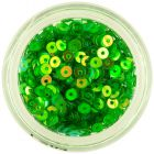 Round disk flitters - green