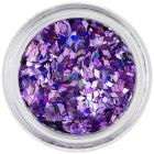 Nail art diamond confetti - light purple, hologram