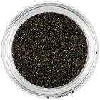 Small glitter flakes – black