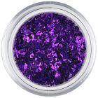 Glitter flakes small – dark purple
