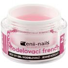 Builder French UV gel for nails - slightly pink, 10ml