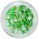 3D Flowers – Pearl Green